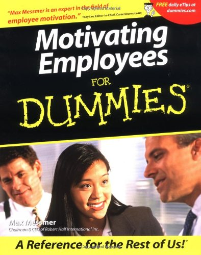 Motivating Employees For Dummies