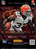 2012 Panini Crown Royale Football Factory Sealed Retail Box