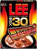 グリコ 激辛カレー LEE 辛さ30倍 2012年版 辛さ45倍に挑戦×10食