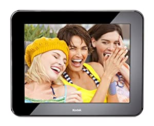 Kodak Pulse 10-Inch Wi-Fi Digital Frame with Custom e-Mail Address for Immediate Sharing