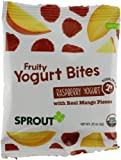 Sprout Fruity Yogurt Bites, Raspberry Yogurt with Mango, 1.1 Ounce