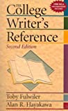 img - for College Writer's Reference, The by Toby Fulwiler (1998-08-12) book / textbook / text book