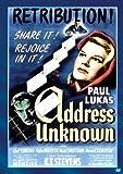 Address Unknown [DVD] [1944] [Region 1] [US Import] [NTSC]