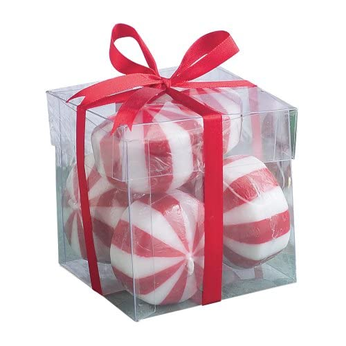 Amazon.com - Biedermann & Sons Six Peppermint Candy Floating Candles -