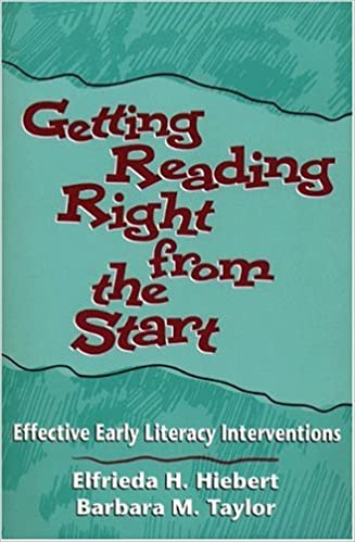 Book cover: getting reading right from the start