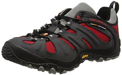 Merrell  CHAM WRAP SLAM,  Scarpe da escursionismo e trekking uomo, Charcoal/Red, 43