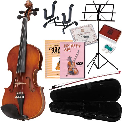 Hallstatt入門用バイオリン V-12 10点セット 4/4サイズ(9...