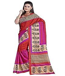 SB Creations Women's Turcky Silk Saree (SB_094_Multi)