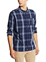 Pepe Jeans London Camisa Hombre Horn (Azul Oscuro)