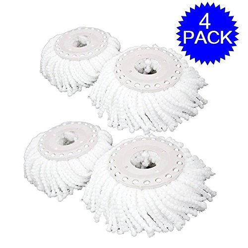 masterpanel-lot-of-4-replacement-mop-micro-head-refill-hurricane-for-360-spin-magic-mop-tp3327