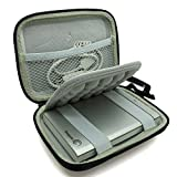 co2CREA(TM) Black Storage Hard EVA Shockproof Travel Carry Carrying Case Pouch Bag Cover for Seagate HDD Expansion / Backup Plus Slim / Wireless Plus Mobile Cloud Storage / Backup Plus Fast USB 3.0 Portable External Hard Drive 500GB 1TB 2TB