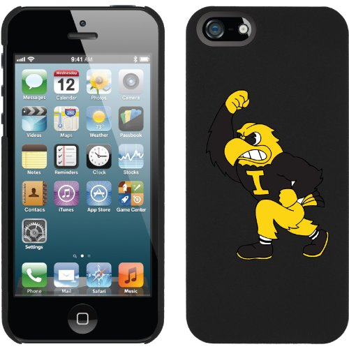 Special Sale Iowa - fighting Hawkeyes design on a Black iPhone 5 Thinshield Snap-On Case by Coveroo