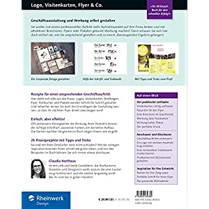 Logo, Visitenkarten, Flyer & Co.: Geschäftsausstattung und Werbung selbst gestalten - inkl. Plakat,