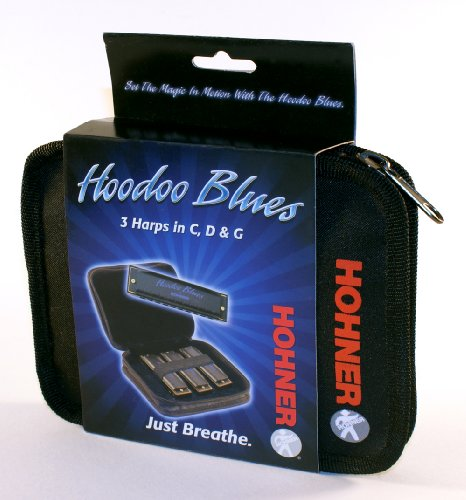 Hohner Hbp Harmonica, Key Of C, D And G