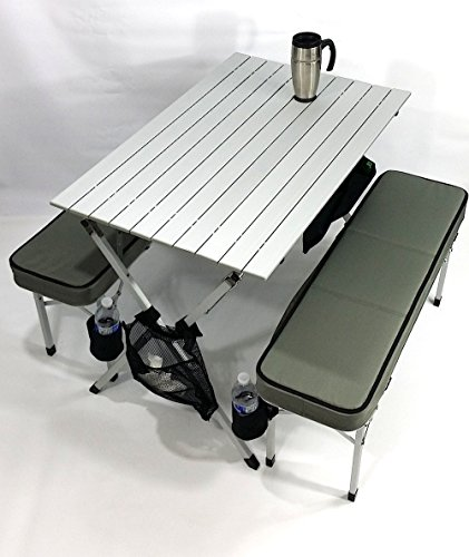 Oasis raptor ii deluxe compact table bench set heavy for Super table ld 99
