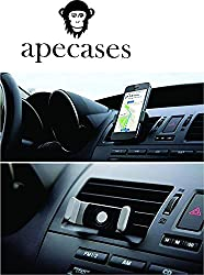 ApeCases Portable Car Air Outlet Phone Holder Mount Clip for Iphone