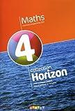 echange, troc Marie-Hélène Le Yaouanq, Jean-François Chesné - Horizon maths, 4eme : Manuel grand format