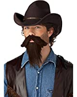 California Costumes Men's The Rustler Full Goatee Costume Accessory