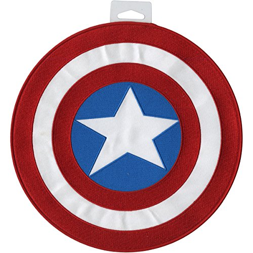 Application Marvel Comics Retro Captain America Shield Back Patch