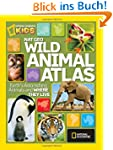Nat Geo Wild Animal Atlas: Earth's As...