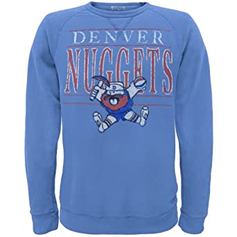 Denver Nuggets - Distressed Prospector Logo Crew Neck Sweatshirt by Old Glory