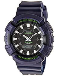 Casio Youth Series Analog-Digital Black Dial Unisex Watch - AD-S800WH-2AVDF (AD188)