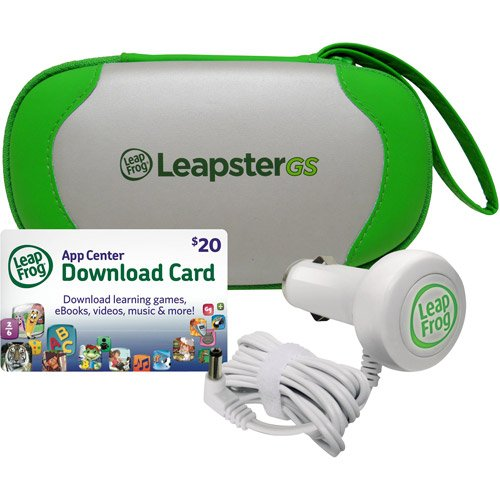LeapFrog LeapsterGS Explorer Travel & Play Accessories Bundle, Green htc explorer б у