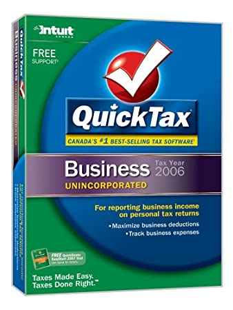 QuickTax Business Unincorporated 2006 [Old Version]