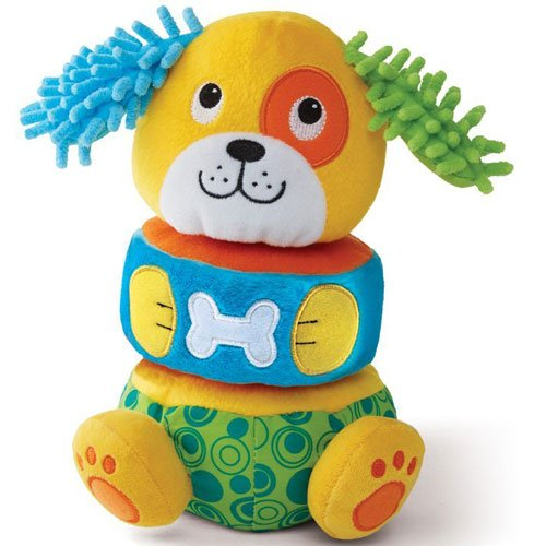 Earlyears Lil' Puppy Stacker Baby Toy