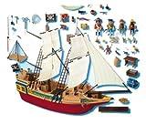 Jouet : Playmobil - 4290 - Grand Bateau Pirate