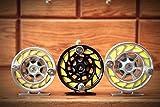 New Hatch 11 Plus Finatic Fly Fishing Reel Black/Silver