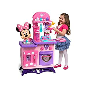Minnie Mouse Bow-Tique Flipping Fun Kitchen