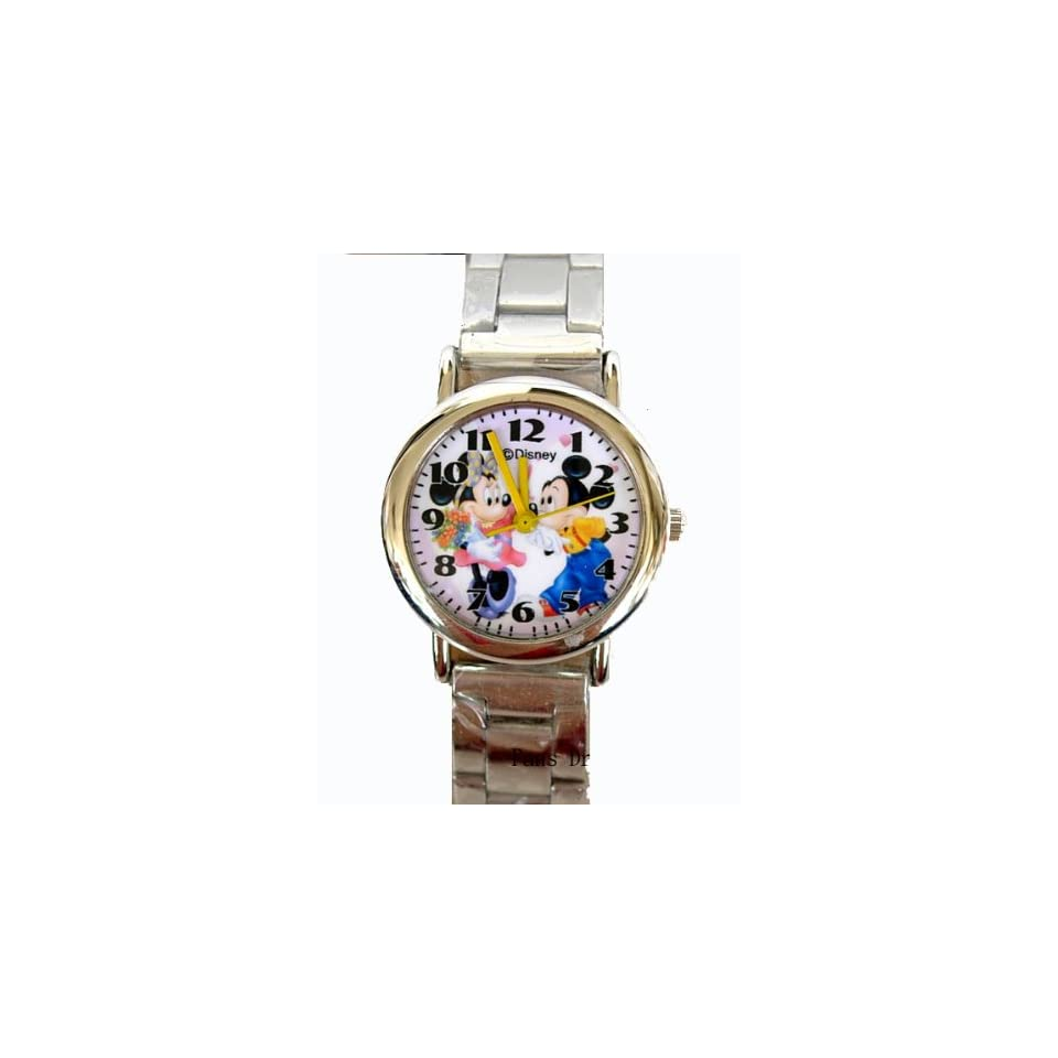 Disney Mickey & Minnie Watch w/ bracelet link (mickey Watch)