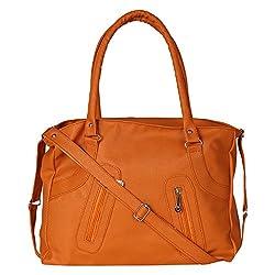 Glory Fashion Women's Stylish Handbag Mustard-GF-204