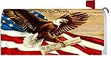 Custom Decor Magnetic Mailbox Cover Freedom Eagle