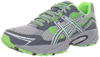 ASICS Women's GEL-Venture 4 Running Shoe,Charcoal/Frost/Green,7 M US