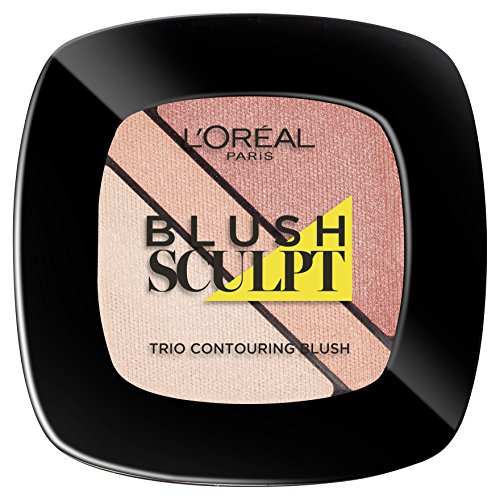 L'Oréal Make Up Designer Paris Infallible Sculpt Trio Contouring Blush 101 Soft Rosy, 30 gr
