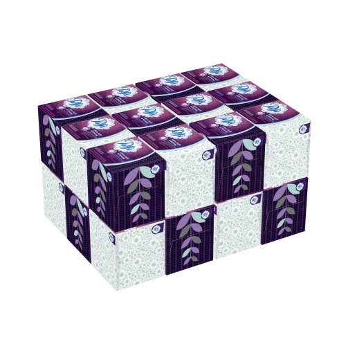 Puffs Ultra Soft & Strong Facial Tissues; 1344 Count; 24 Cube Boxes (56 Tissues Per Box)