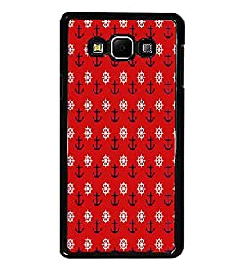 PrintDhaba Pattern D-6087 Back Case Cover for SAMSUNG GALAXY A8 (Multi-Coloured)