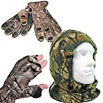 Winter Warmers Camo Snood And Gloves...