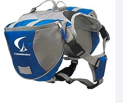 Mypet Outdoor Adjustable Dog Saddle Bag Large Capacity Dog Backpack with Reflective Stripe