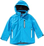 Killtec Espejo Children's Functional Jacket with Zip-Off Hood - Blue, 128 cm
