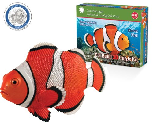Smithsonian E-Z Build Puzzle - Clown Fish - 1