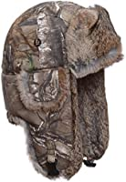 Mad Bomber Original Camo Bomber Cap with Real Fur