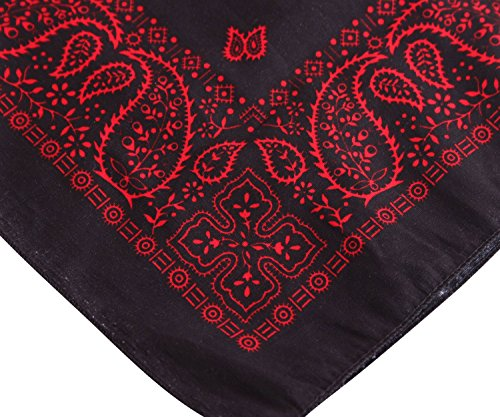 paisley bandana nickituch rockabilly haar hals tuch im 50s retro style. Black Bedroom Furniture Sets. Home Design Ideas