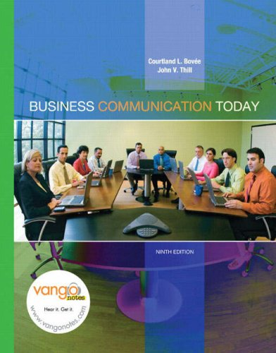 Business Communication Today (9th Edition)
