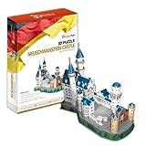 3D立体パズル ノイシュヴァンシュタイン城