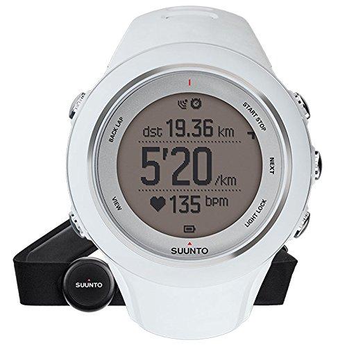SUUNTO Ambit3 Sport - Reloj GPS para actividades multideporte con conexión móvil, color blanco / plateado