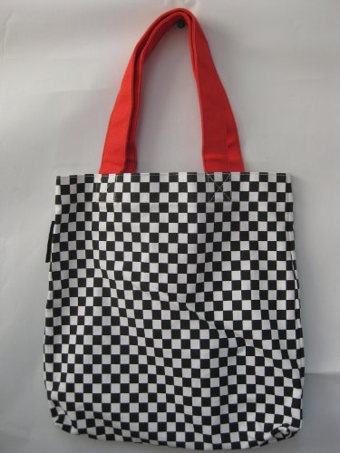 "Heavy Duty Canvas ""Checkers"" Tote Bag"