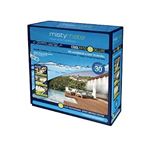 MistyMate 16011 Cool Patio 10 Deluxe Outdoor Misting Kit by MistyMate